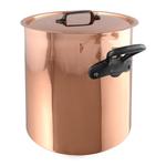 Mauviel M150c Copper Stockpot with Tin Interior