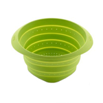 Lékué Green Silicone Mini Collapsible Colander