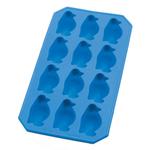 Lekue Turquoise Rubber Penguin Ice Cube Tray