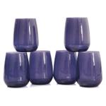 Bormioli Rocco Premium Lavender 14.5 Ounce Water Glass, Set of 6