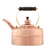 Simplex Kettles Kensington Solid Copper No. 1 Copper Finish 1.9 Quart Teakettle