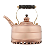 Simplex Kettles Buckingham Solid Copper No. 1 Copper Finish 1.9 Quart Teakettle