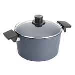 Woll Diamond Lite Cast Aluminum Induction 5.25 Quart Covered Stockpot