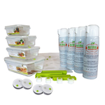Natural Storage 30 Piece Mapware Master Series Food Preservation Kit