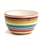 Omniware Ceramic Multi Stripe Chili Bowl