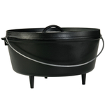 Lodge Logic 10 Quart Deep Camp Dutch Oven