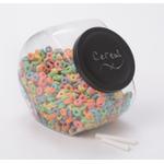 Anchor Hocking 1 Gallon Candy Jar with Black Chalkboard Lid