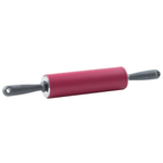 Trudeau Sil-Pin Purple Silicone 9.5 Inch Standard Rolling Pin