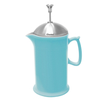 Chantal Aqua Ceramic 28 Ounce French Press with Stainless Steel Plunger and Lid