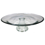 Anchor Hocking Annapolis Way Glass 13 Inch Tiered Platter