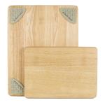 Architec Gripperwood Beechwood 2 Piece Cutting Board Set