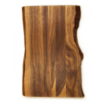 Architec Gripper Bareboard Raw Edge Acacia 11 x 14 Inch Cutting Board