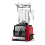 Vitamix Ascent Series A2500 Red 64 Ounce Blender with Blending Cups Starter Kit