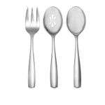 Nambe Fjord 18/10 Stainless Steel 3-Piece Hostess Serving Set
