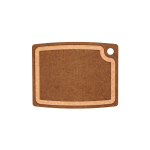 Epicurean Gourmet Series Nutmeg and Natural 14.5 × 11.25 Inch Cutting Board