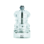 Peugeot Nancy Clear Acrylic 3.5 Inch Salt Mill
