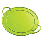 Kuhn Rikon Green Silicone 2 Piece Splatter Guard Set