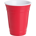 Trudeau Red 16 Ounce Party Cup