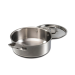 Wolf Gourmet 7 Ply Stainless Steel 6 Quart Covered Dutch Oven