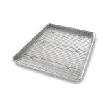 USA Pans Aluminized Steel Half Baking Rack Set