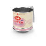 Tala Originals Pink Stainless Steel Mini Flour Sifter