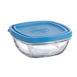 Duralex Lys 10 Ounce Square Bowl with Lid
