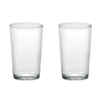 Duralex Unie Tempered Glass 19.75 Ounce Tumbler, Set of 6