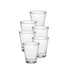 Duralex Pure Glass 7.375 Ounce Tumbler, Set of 6