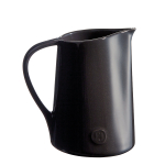 Emile Henry Charcoal Ceramic 1 Quart Pitcher