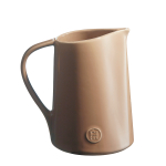 Emile Henry Oak Ceramic 1 Quart Pitcher