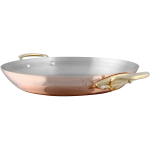Mauviel M'150b Copper and Stainless Steel 8 Inch Round Pan