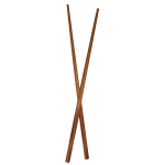 Totally Bamboo Bamboo Twist Chopsticks, 5 Pack