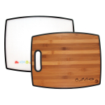 Totally Bamboo Polyboo Bamboo and Poly 15 Inch Cutting Board