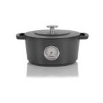 Combekk Homeware Concrete 9.5 Inch Rails Dutch Oven