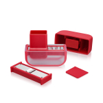 Microplane Red Garlic Mince and Slice Set