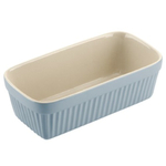 Typhoon Blue Stoneware Vintage Loaf Pan