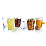 Luminarc Glass 16 Ounce Party Cup, Set of 12