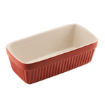 Typhoon Red Stoneware Vintage Loaf Pan