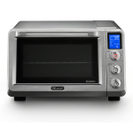 DeLonghi Livenza Stainless Steel 0.8 Cubic Feet Convection Oven