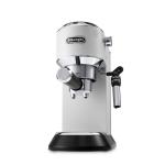 DeLonghi Dedica DeLuxe White Manual Espresso and Cappuccino Machine