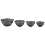 Le Creuset Oyster Silicone 4 Piece Prep Bowl Set