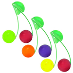 Just Chillin 6 Piece Colorful Chillball Fruit Chill Set with Clips