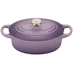 Le Creuset Signature Provence Enameled Cast Iron 1 Quart Oval French Oven
