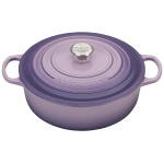 Le Creuset Signature Provence Enameled Cast Iron 6.75 Quart Wide Round Dutch Oven