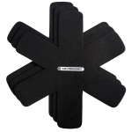 Le Creuset Black Felt 16 Inch Pan Protector, Set of 3