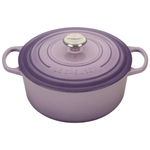 Le Creuset Signature Provence Enameled Cast Iron 5.5 Quart Round Dutch Oven