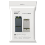 Joseph Joseph Extra Strong 24-36 Liter Custom Fit Waste Liners, Pack of 20