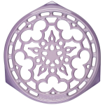 Le Creuset Provence Enameled Cast Iron 9 Inch Deluxe Round Trivet