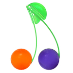 Just Chillin Orange and Grape Chillball Fruit Chill Set with Clips