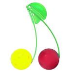 Just Chillin Lemon and Cherry Chillball Fruit Chill Set with Clips